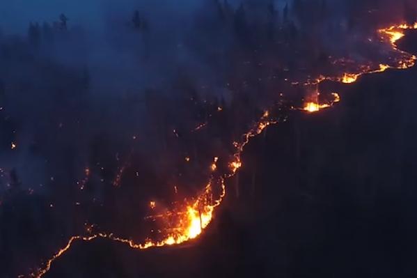 Всю Сибирь затянуло густой дымкой от лесных пожаров