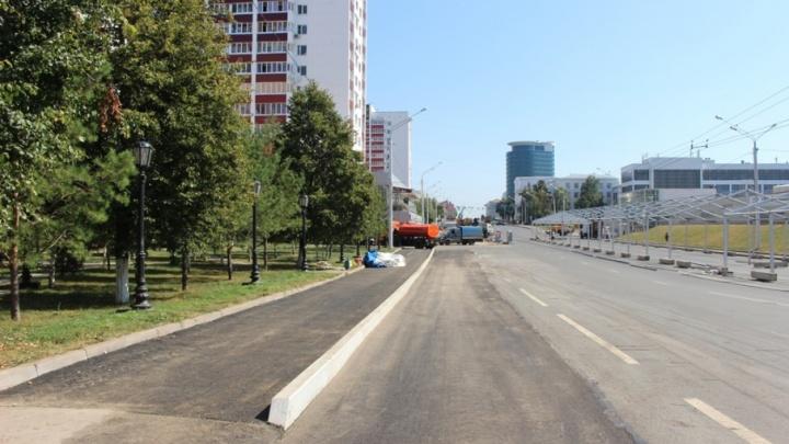 В Уфе перед стартом крупного фестиваля успели завершить ремонт теплотрассы