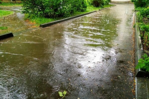 Высокая вероятность дождей сохранится почти всю следующую неделю