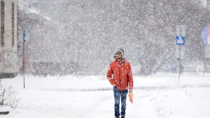 Снегопад не закончится: МЧС разослало ярославцам экстренное предупреждение о непогоде