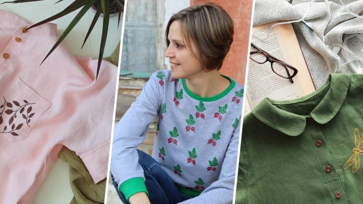 Омичка бросила работу и переехала в Тару.Она устроилась в театр и развивает свой бренд одежды