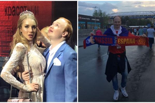 Антон Парамонов — любитель красоток и футбола