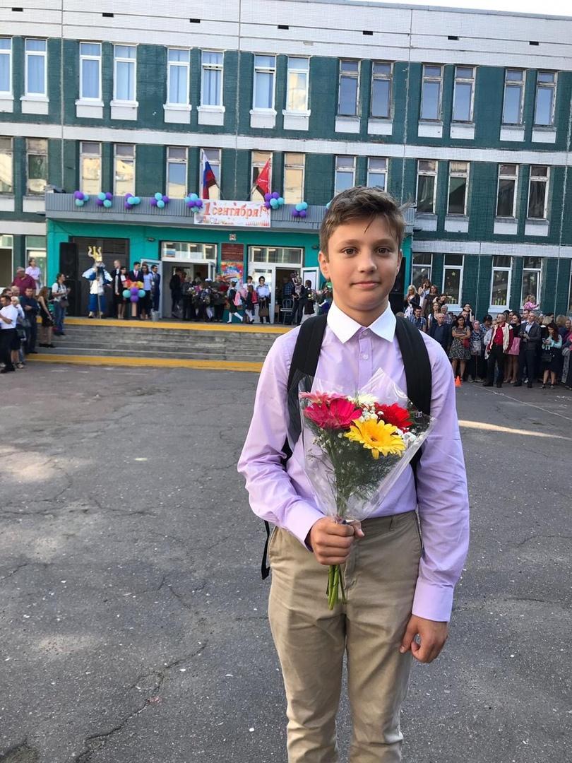 Сын заслуженной спортсменки Олеси Красномовец