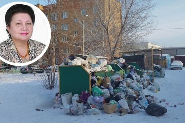 Первый замглавы фракции «Единая Россия» Раиса Кармазина назвала посылки с мусором пиар-акцией