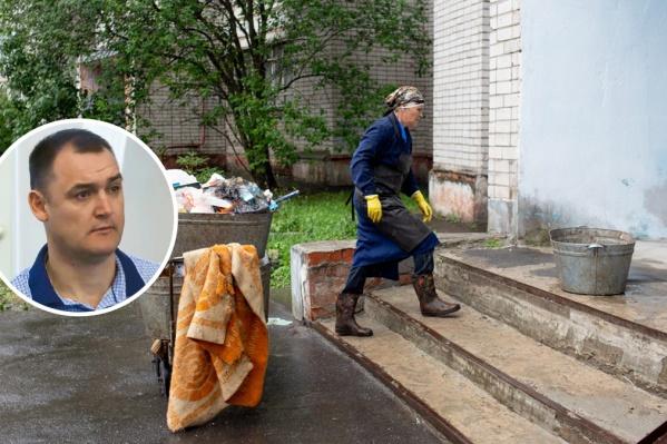 Владимир Волков предложил уволенному директору МУП помочь уборщице прибирать целый дом