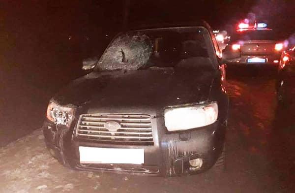 В Уфе водитель Subaru Forester сбил пешехода: личность погибшего устанавливают