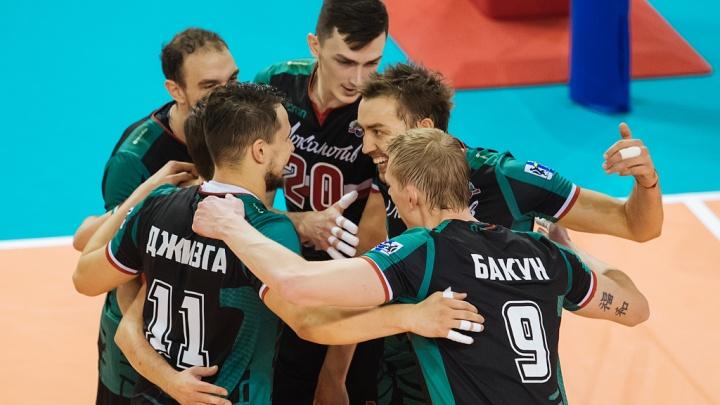 Волейбол: «Локомотив» уверенно обыграл московское «Динамо»