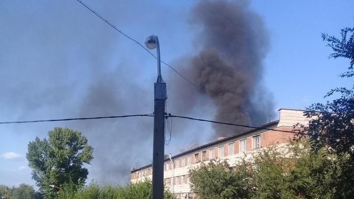 «Подростки подожгли»: в Волгограде горел наркологический диспансер