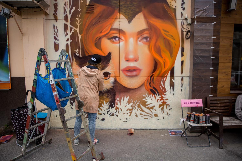 Новые граффити уже попали в «инстаграмы» новосибирцев