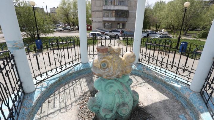 Забили ключом: 74.ru «оживил» заброшенные фонтаны Челябинска