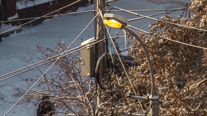 На лампочках сэкономят: власти поменяют фонари на улицах Академгородка