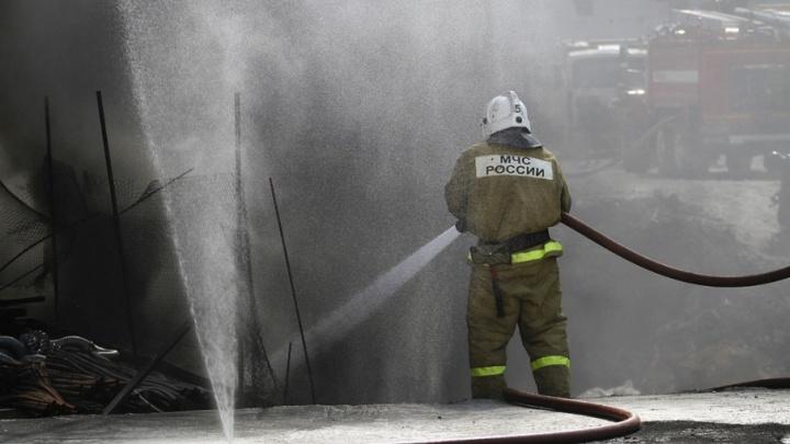 В пожаре в Лебяжьевском районе погибли женщина и 8-летний ребёнок