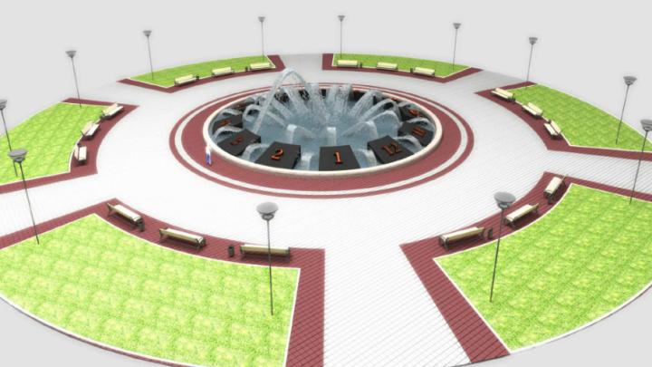 В Уфе вновь ищут подрядчиков для строительства фонтана на Горсовете