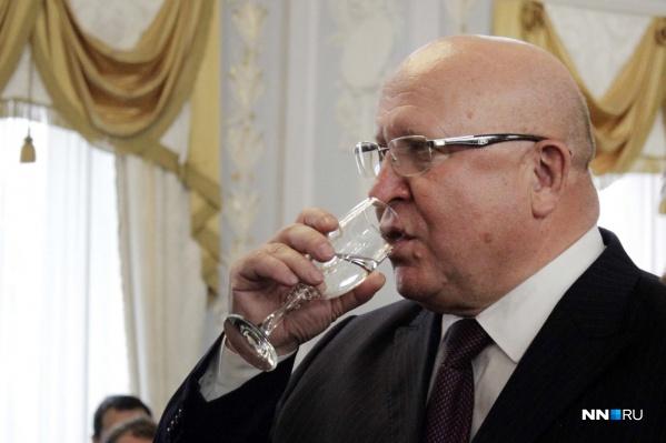 Валерий Шанцев при прощании с Нижним Новгородом старался «держать лицо»