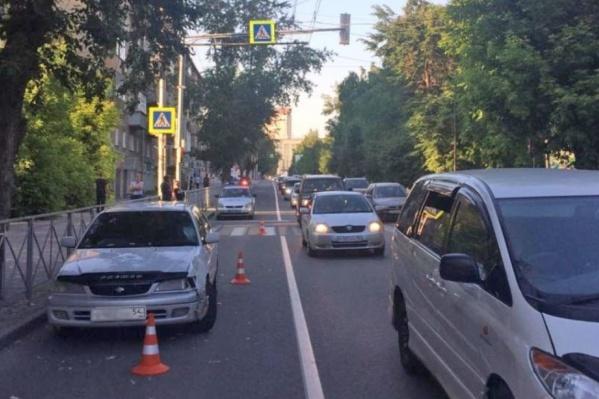 ДТП случилось на улице Восход в Октябрьском районе