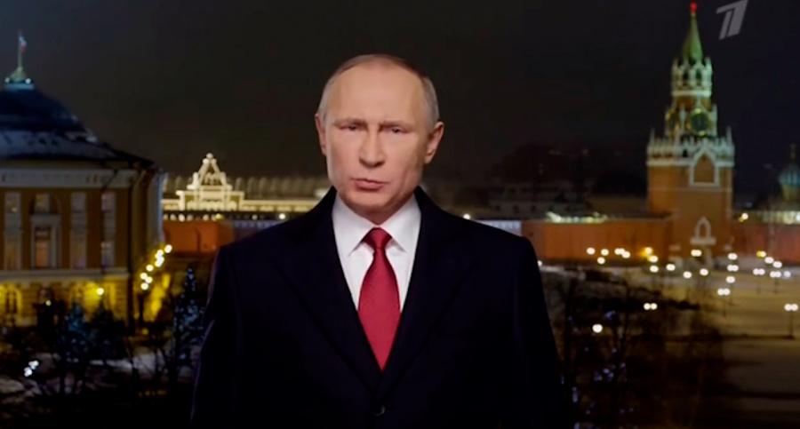 Впервый раз за10 лет Владимир Путин поздравит омичей сНовым годом вовремя