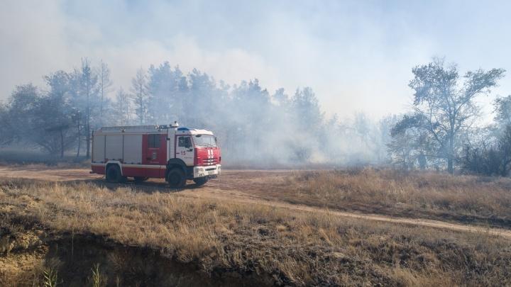 В Волгограде сформировали сводную мобильную группу МЧС для борьбы с пожарами