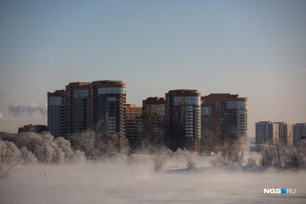 В ближайшие сутки морозы в Новосибирской области усилятся