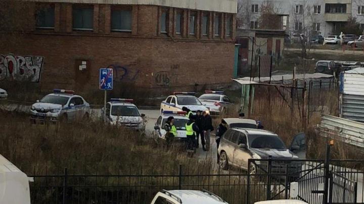В Кировском районе полиция устроила погоню за BMW