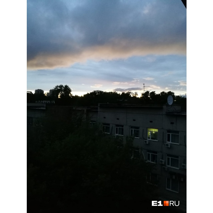Небо над Большакова