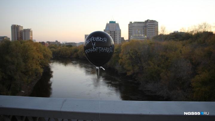 Отмечать юбилей Фрунзенского моста пришёл космонавт с месяцем