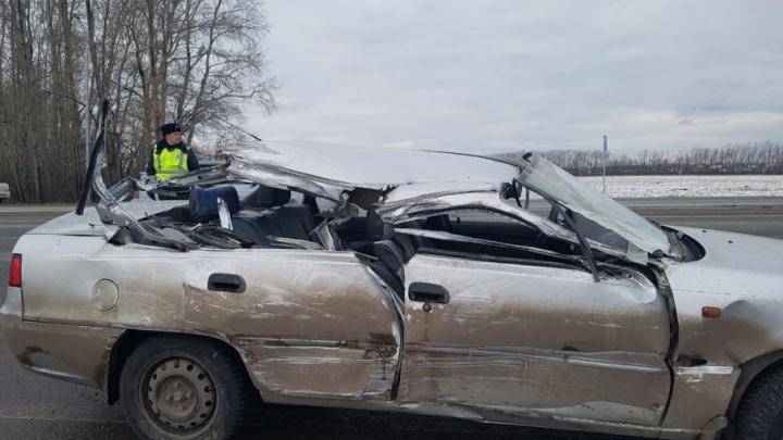 На башкирской трассе в аварии погиб 10-летний школьник