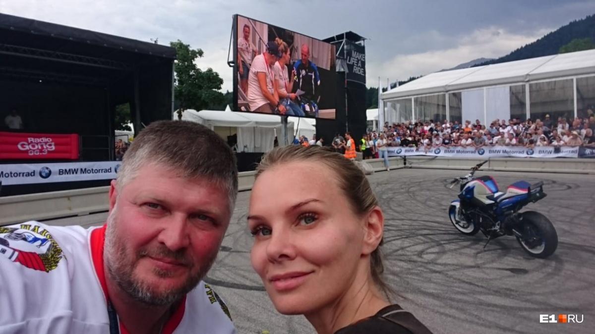 Ольга и Николай влюбились в путешествия на мотоциклах и теперь не хотят отдыхать по-другому