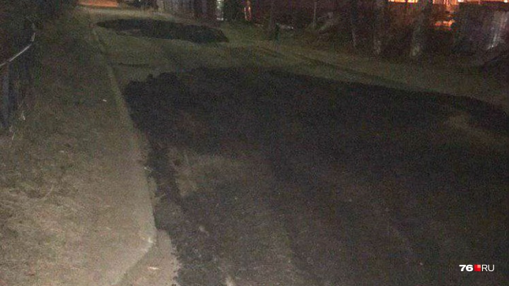 «Может, чиновники головой будут думать?»: ярославцы отругали власть за античеловечный ремонт дороги