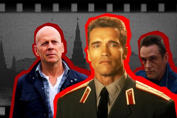 Иногда российское кино так похоже на зарубежное, а зарубежное — на русское...