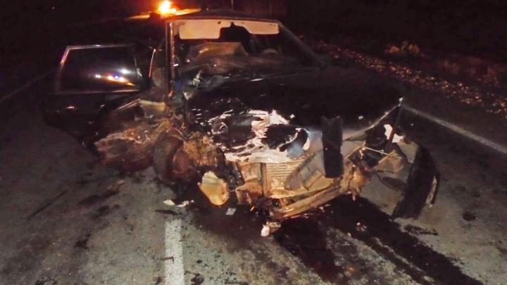 Столкнулись лоб в лоб: на трассе в Башкирии произошло смертельное ДТП