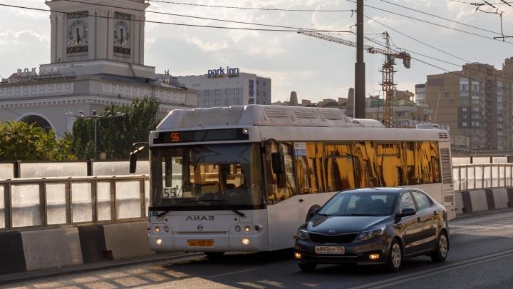 С 15 сентября в Волгограде меняются маршруты автобусов № 2 и 55
