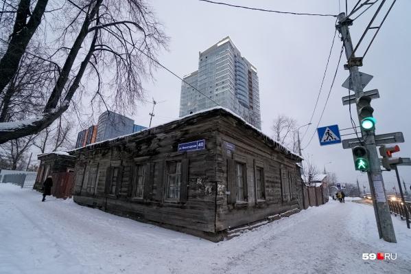 Дома построены больше ста лет назад