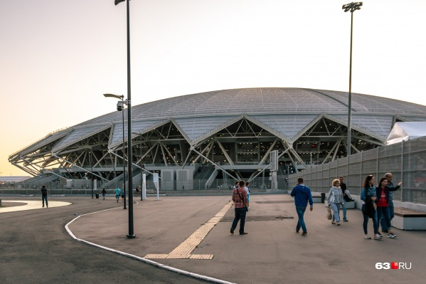 Стадион строили специально для матчей футбольного чемпионата мира в 2018 году