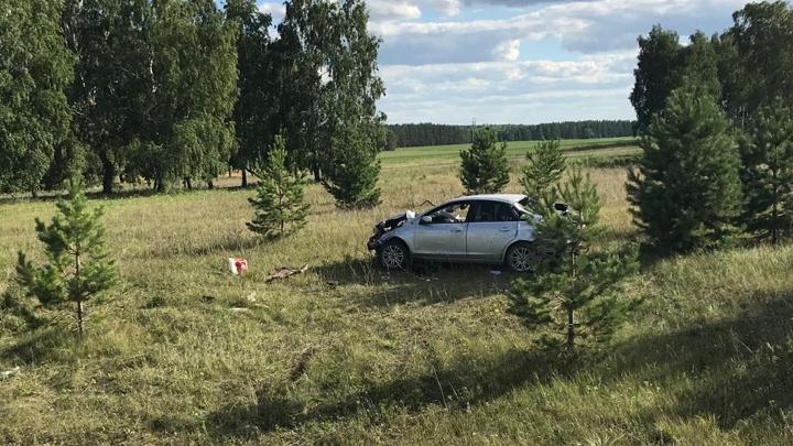 Пассажирка умерла в реанимации: на трассе в Башкирии с дороги слетел «Форд-Фокус»