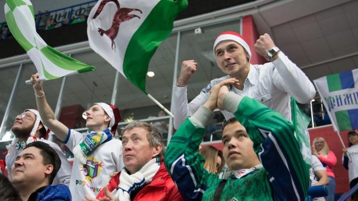 Хоккеисты «Салавата Юлаева» проведут заключительный матч выездной серии