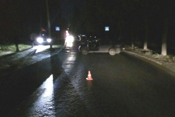 Авария на улице Пирогова случилась в 11 часов вечера