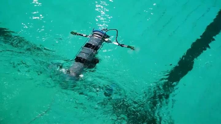 В СибГУ усовершенствовали подводный квадрокоптер и оснастили его камерой
