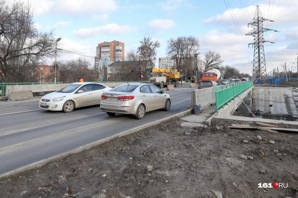 Ремонт моста на Нансена обернулся для города большими пробками
