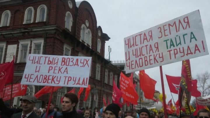 «Прекратить на Шиесе всё, чтобы предотвратить кровопролитие»: онлайн с Первомая в Архангельске