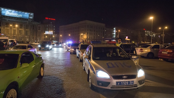 Больше ста водителей оштрафовали в центре города