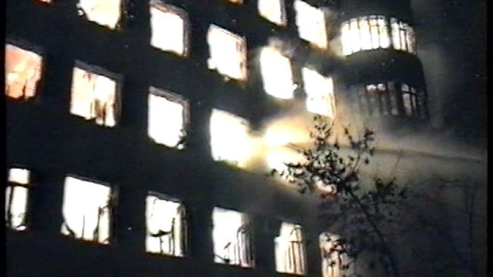 «Из подвалов выносили тротил»: публикуем видео о самом страшном пожаре в истории Самары