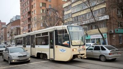 Ростовские власти отказались выделить для трамваев отдельную полосу