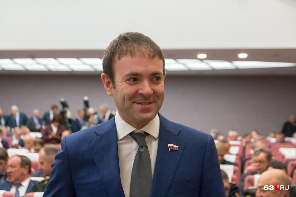 Евгений Серпер представляет в Госдуме Самарскую область