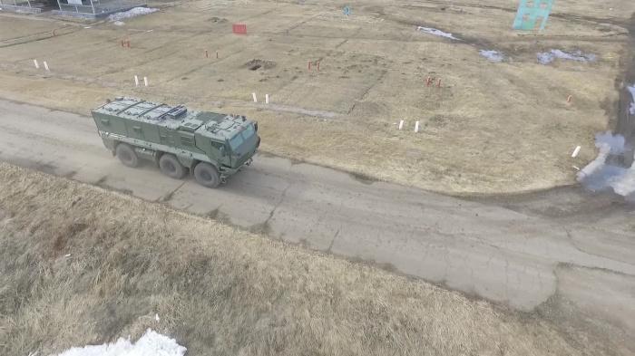 Партию новых броневиков «Тайфун-К» новосибирские спецназовцы получили в начале апреля