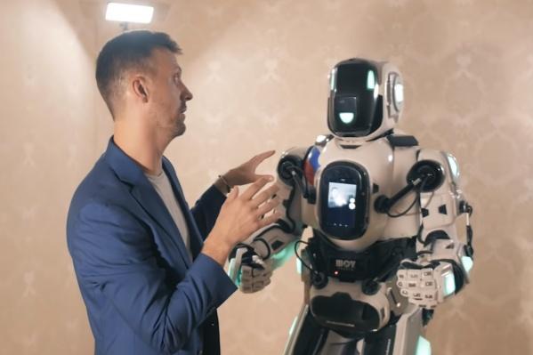 Сейчас производитель выпускает более современные модели, чем робот Борис