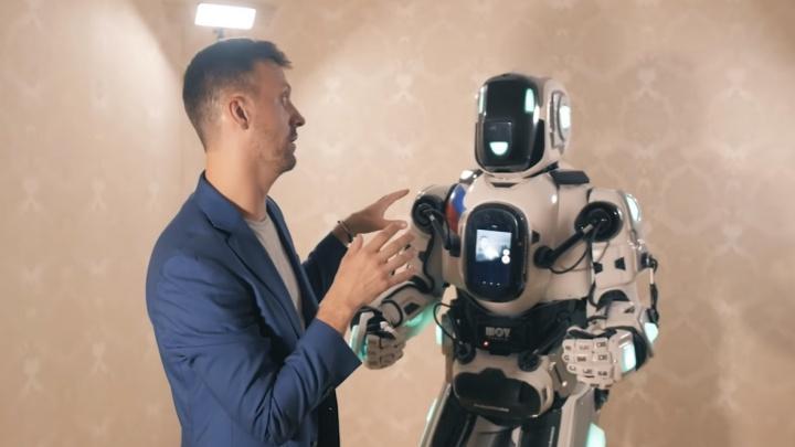 «Робот Борис — устаревшая модель»: сколько стоит фейковая разработка учёных из сюжета «России 24»