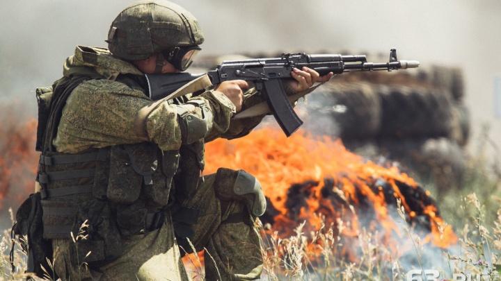 «Взорвали» Рощинский полигон: российские миротворцы провели учения под Самарой