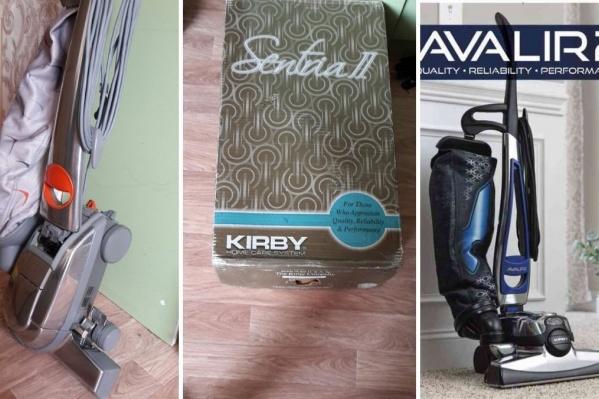 Две фотографии слева — пылесос, который купила читательница 72.RU. Крайняя правая фотография — то, что предлагали девушке продавцы, показывая фотографии
