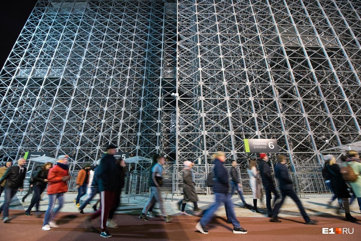 В случае, если в 2023 году Екатеринбург примет универсиаду, трибуны останутся на прежнем месте