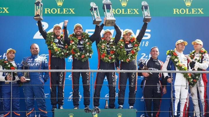 Экипаж G-Drive Racing впервые одержал победу в Ле-Мане